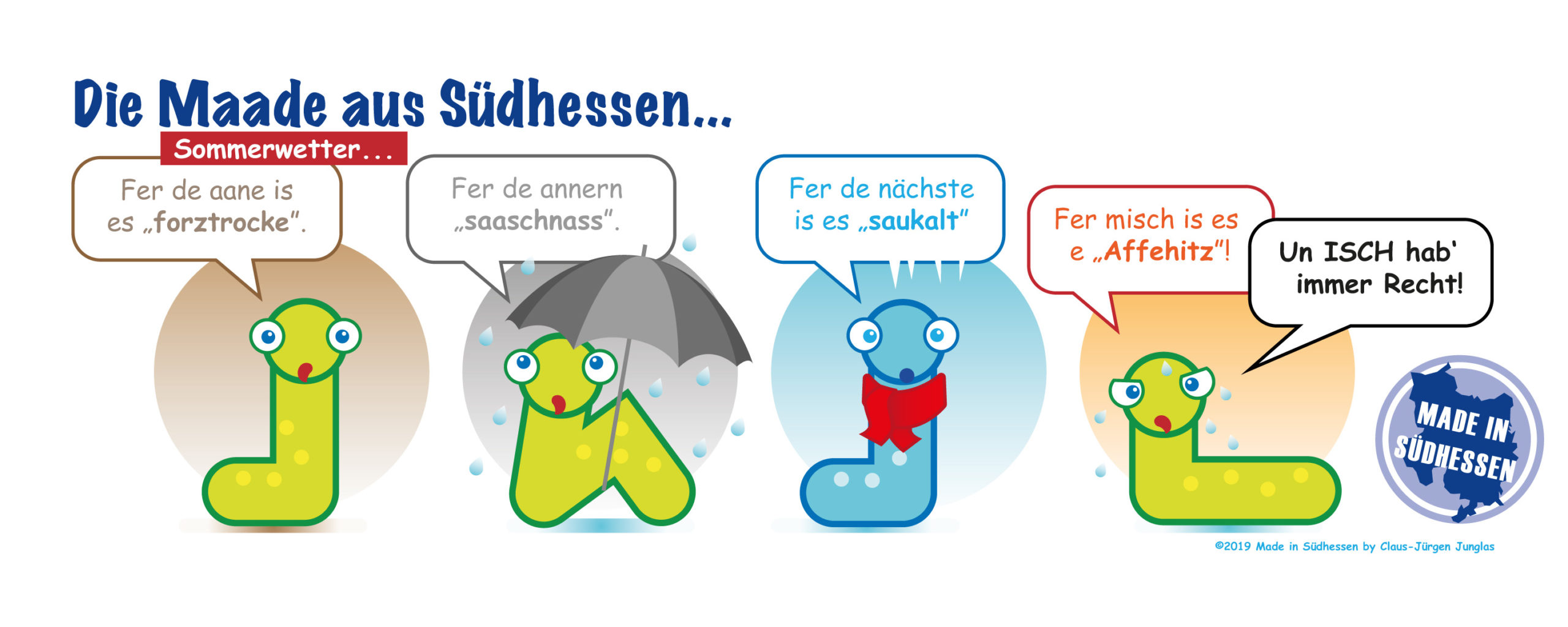 Jeder fühl Wetter anders...